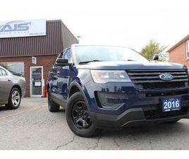 USED 2016 FORD EXPLORER AWD POLICE INTERCEPTOR FPIU SUV