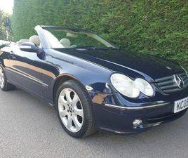 2005 MERCEDES-BENZ CLK 2.6 CLK240 ELEGANCE CABRIOLET AUTO - £4,995