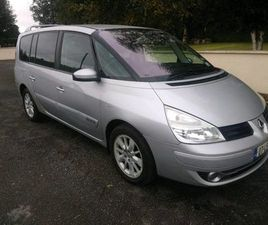 RENAULT ESPACE 7 SEATER DIESEL NCT 08/22 FOR SALE IN KILKENNY FOR €1,650 ON DONEDEAL
