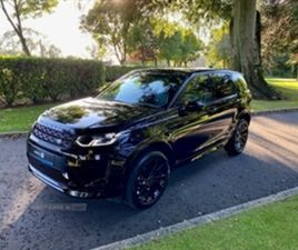 USED 2020 LAND ROVER DISCOVERY SPORT DIESEL SW ESTATE 13,000 MILES IN BLACK FOR SALE   CAR