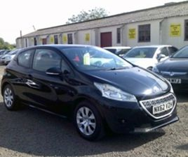 USED 2012 PEUGEOT 208 1.4 HDI ACCESS PLUS **FREE TAX** HATCHBACK 87,000 MILES IN BLACK FOR