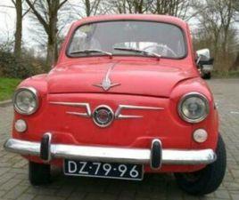 FIAT / SEAT 600D 1968 OLDTIMER.