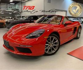 USED 2017 PORSCHE BOXSTER 718 I CONVERTIBLE | NAVI | LEATHER | COMING SOON
