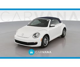 WHITE COLOR 2016 VOLKSWAGEN BEETLE DENIM FOR SALE IN NEW YORK, NY 10013. VIN IS 3VW517AT9G
