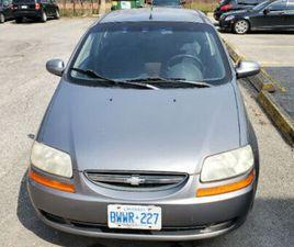 2006 CHEVROLET AVEO LT | CARS & TRUCKS | OSHAWA / DURHAM REGION | KIJIJI