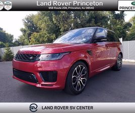CERTIFIED 2018 LAND ROVER RANGE ROVER SPORT HSE DYNAMIC