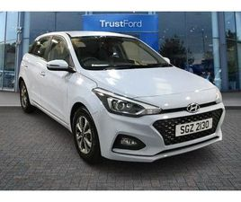 HYUNDAI I20 1.2 MPI SE 5DR- TOUCH SCREEN, APPLE CAR PLAY, BLUETOOTH, SPEED LIMITER, CRUISE