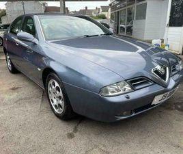 2001 ALFA ROMEO 166 3.0 V6 24V SUPER 4DR*ONE PREVIOUS OWNER**FSH** SALOON PETROL