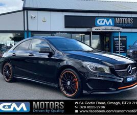 MERC CLA 220D ORANGEART TIP AUTO (N.I CAR) FOR SALE IN TYRONE FOR £18,425 ON DONEDEAL