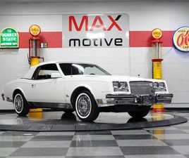 FOR SALE: 1985 BUICK RIVIERA IN PITTSBURGH, PENNSYLVANIA