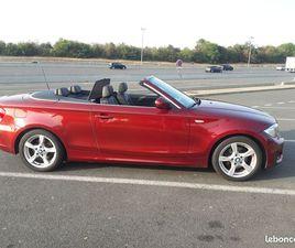 BMW SERIE 1 E88 CABRIOLET 120D 177 LUXE BVA6