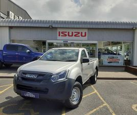 2021 ISUZU D-MAX 1.9TD UTILITY (162BHP)(EU6D) 4X2 SINGLE PICK-UP - £22,995 +VAT