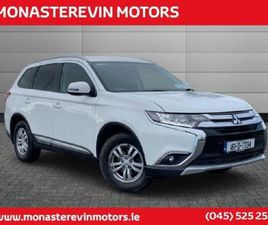 MITSUBISHI OUTLANDER 4WD 6MT 16MY 4DR N1 - 52 PE FOR SALE IN KILDARE FOR €12,681 ON DONEDE