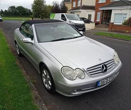 2005 MERCEDES BENZ CLK 200 FOR SALE IN KILDARE FOR €4,200 ON DONEDEAL
