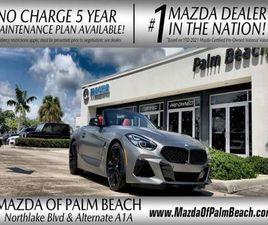 GRAY COLOR 2021 BMW Z4 M40I FOR SALE IN WEST PALM BEACH, FL 33403. VIN IS WBAHF9C03MWX0299
