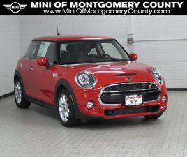 RED COLOR 2019 MINI COOPER HARDTOP S FOR SALE IN GAITHERSBURG, MD 20879. VIN IS WMWXP7C58K