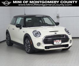 WHITE COLOR 2021 MINI COOPER HARDTOP S FOR SALE IN GAITHERSBURG, MD 20879. VIN IS WMWXR5C0