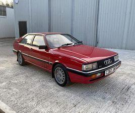 1986 AUDI COUPE GT 2DR