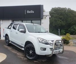 USED 2015 ISUZU D-MAX 2.5TD YUKON DOUBLE CAB 4X4 [VISION PACK] NOT SPECIFIED 43,000 MILES