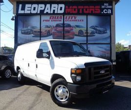 2011 FORD ECONOLINE E-250, 10FT CARGO, LEATHER,**NO ACCIDENTS**CERTIFIED** | CARS & TRUCKS