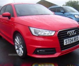 USED 2017 AUDI A1 SPORTBACK HATCHBACK 51,200 MILES IN RED FOR SALE | CARSITE