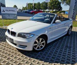 BMW 120I CABRIO SERVICE HU/AU NEU