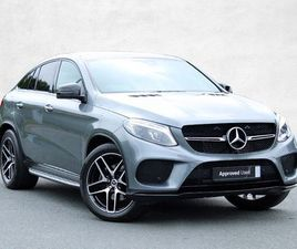 MERCEDES-BENZ GLE CLASS GLE 350 D 4MATIC AMG LINE NIGHT EDITION COUPE 3.0