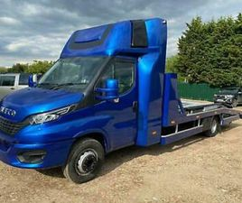 IVECO DAILY 7T 7,2T TWIN DECK DOUBLE DECK RECOVERY TRUCK CAR TRANSPORTER