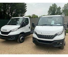 2021 IVECO DAILY 7.2T 180HP HI-MATIC WHITE CHASSIS CAB 5100 WB RECOVERY TRUCK