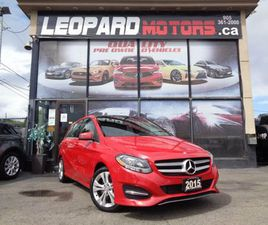 2015 MERCEDES-BENZ B-CLASS NAVIGATION,PANORAMIC ROOF,CAMERA,BLIND SPOT**ONE OWNER** | CARS