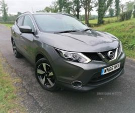 USED 2017 NISSAN QASHQAI DIESEL HATCHBACK MPV 76,000 MILES IN GREY FOR SALE   CARSITE
