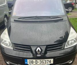 7 SEATER RENAULT GRAND ESPACE FOR SALE IN DUBLIN FOR €2,000 ON DONEDEAL
