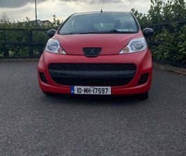 PEUGEOT 107 FOR SALE IN DUBLIN FOR €2,600 ON DONEDEAL