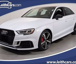 WHITE COLOR 2019 AUDI RS3 FOR SALE IN RALEIGH, NC 27629. VIN IS WUABWGFF7KA906416. MILEAGE