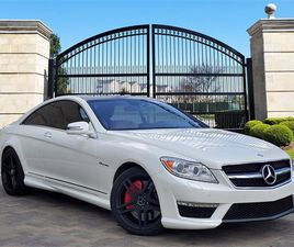 WHITE COLOR 2011 MERCEDES-BENZ CL-CLASS AMG CL 63 FOR SALE IN HOUSTON, TX 77024. VIN IS WD