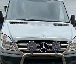 MERCEDES SPRINTER 4X4 319 CDI 3500KG, UNDER 18K MILES, 2967CC, CUSTOM LINED REAR