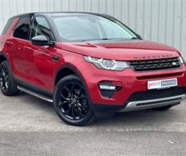 USED 2015 LAND ROVER DISCOVERY SPORT 2.2 SD4 HSE LUXURY ESTATE 91,963 MILES IN FIRENZE RED