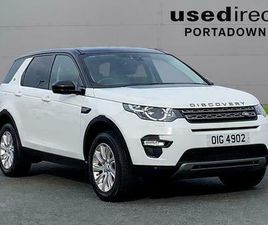 2015 LAND ROVER DISCOVERY SPORT 2.2 SD4 SE TECH 5DR AUTO STATION WAGON DIESEL AU