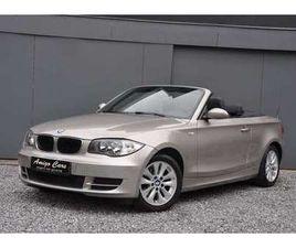 BMW 118 1 CABRIO-NAVIGATIE-MULTISTUUR-LEDER-PDC