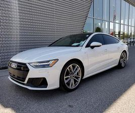 WHITE COLOR 2020 AUDI A7 PRESTIGE 55 FOR SALE IN MIDDLEBURG HEIGHTS, OH 44130. VIN IS WAUV