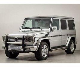 MERCEDES-BENZ G 500 BTW AUTO, FISCALE WAARDE € 21.000,- (€ 3