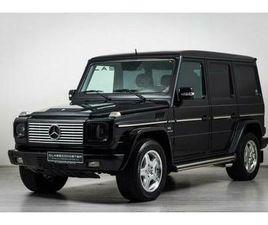 MERCEDES-BENZ G 500 BTW AUTO, FISCALE WAARDE € 22.000,- (€ 4