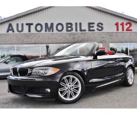 2012 BMW 1 SERIES 128I CABRIOLET M SPORT PACKAGE / GPS / AUTOMATIQUE