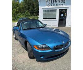 2003 BMW Z4 Z4 2DR ROADSTER 2.5I JAMAIS ACCIDENTÉ
