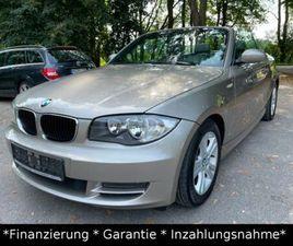 BMW BAUREIHE 1 CABRIO 120D*LEDER*2.HAND*