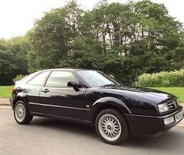 VW CORRADO 1995. SERVICE HISTORY. PREVIOUS OWNER FOR OVER 20 YEARS. ORIGINAL CAR