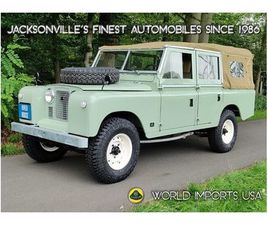 1972 LAND ROVER SERIES II LWB SOFT TOP- (COLLECTOR SERIES)