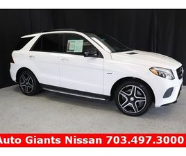 WHITE COLOR 2016 MERCEDES-BENZ GLE 450 AMG 4MATIC FOR SALE IN WOODBRIDGE, VA 22191. VIN IS