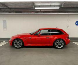 BMW Z3 COUPE 3.0I IN HELLROT MIT NUR 60.000KM BTC