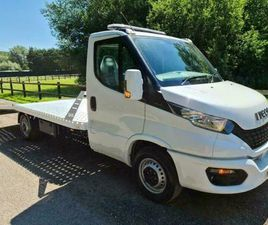 2021 IVECO DAILY 160BHP RECOVERY TRUCK CAR TRANSPORTER AC CRUISE CONTROL